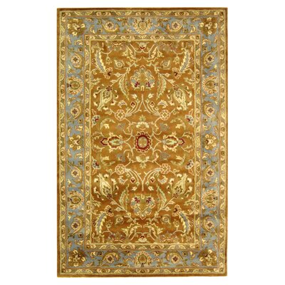 <strong>Safavieh</strong> Heritage Brown/Blue Rug