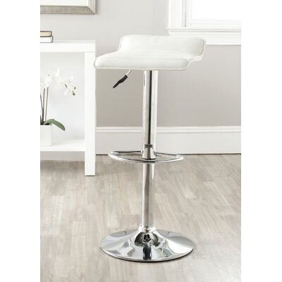 "Safavieh Kemonti 22.4"" Adjustable Swivel Bar Stool"
