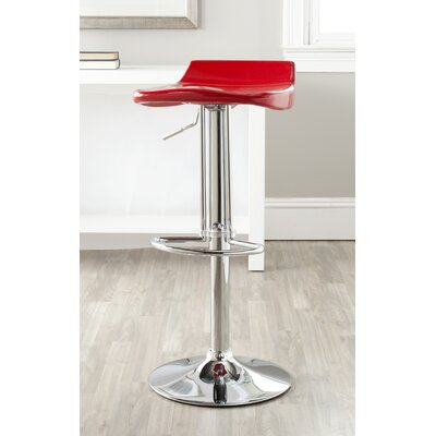 "Safavieh Avish 25"" Adjustable Swivel Bar Stool"