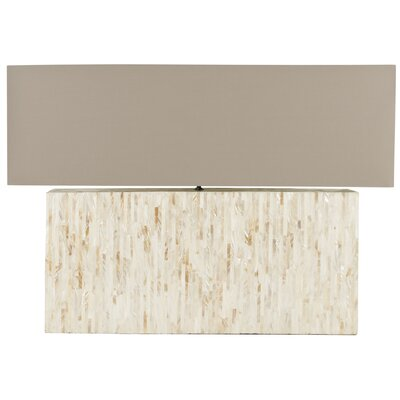 Safavieh Ayers Mother Of Pearl Tile Table Lamp