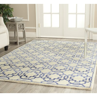 Safavieh Mosaic Cream / Purple Rug