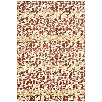 Safavieh Martha Stewart Abstract Trellis Bard Red Rug