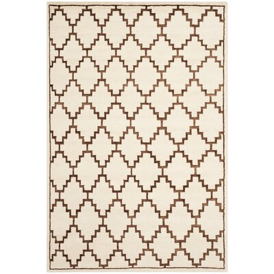Safavieh Mosaic Ivory / Brown Geometric Rug