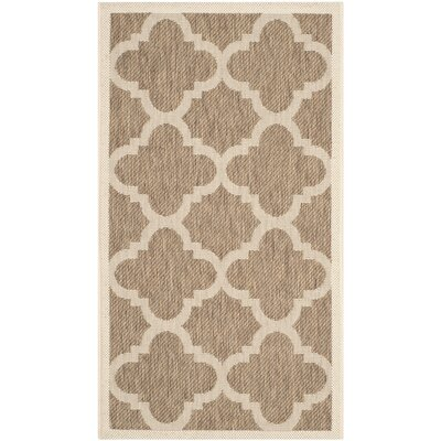 Safavieh Courtyard Brown Outdoor Rug
