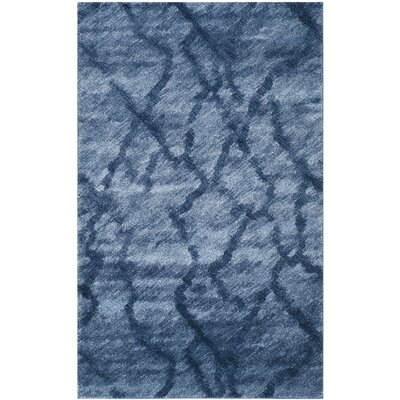 Safavieh Retro Blue / Dark Blue Rug