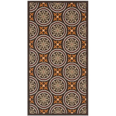 Safavieh Veranda Chocolate / Terracotta Rug