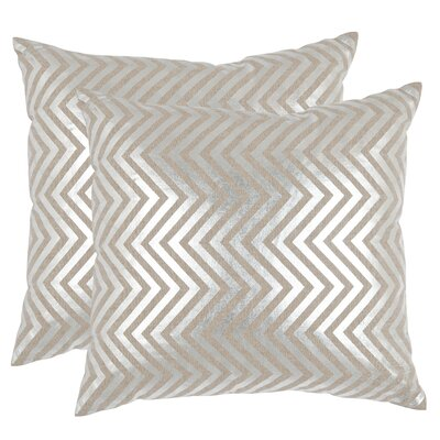 Safavieh Elle Linen Decorative Pillow (Set of 2)