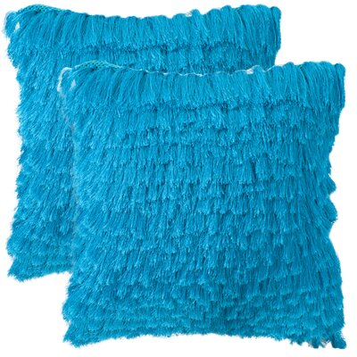 Safavieh Cali Shag Handloom Polyester Decorative Pillow