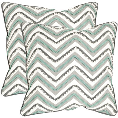 Safavieh Elli Cotton Decorative Pillow (Set of 2)