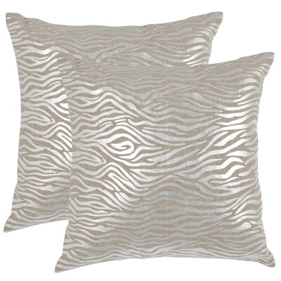 Safavieh Demi Linen Decorative Pillow (Set of 2)