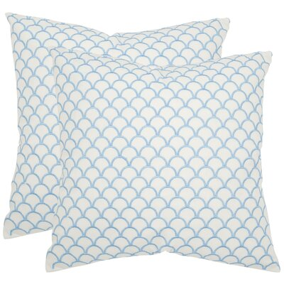 Safavieh Nikki Cotton Decorative Pillow (Set of 2)