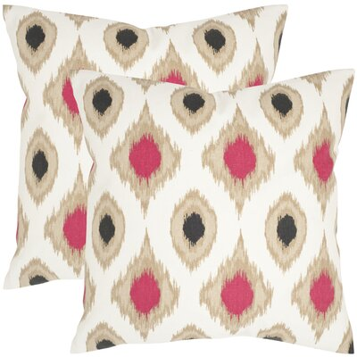 Safavieh Miranda Cotton Decorative Pillow (Set of 2)