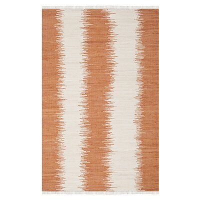 <strong>Safavieh</strong> Montauk Orange Abstract Rug