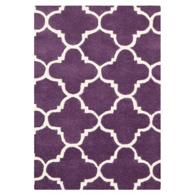 Chatham Purple / Ivory Rug