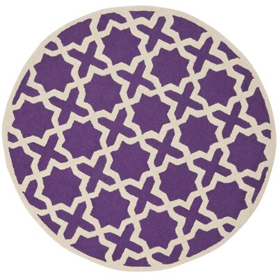<strong>Safavieh</strong> Cambridge Purple / Ivory Rug