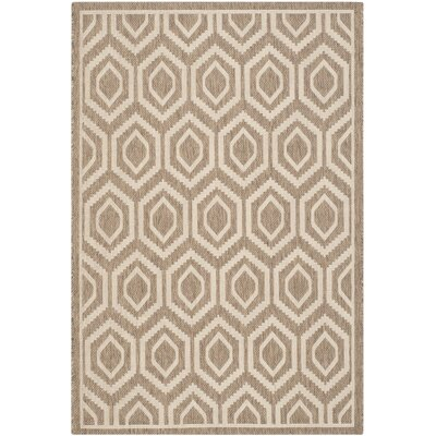 Safavieh Courtyard Brown/Bone Rug