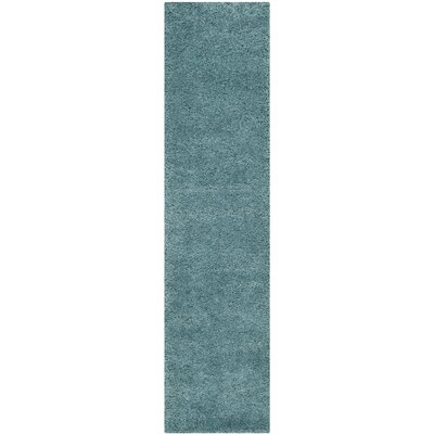 Safavieh Milan Shag Aqua Blue Rug