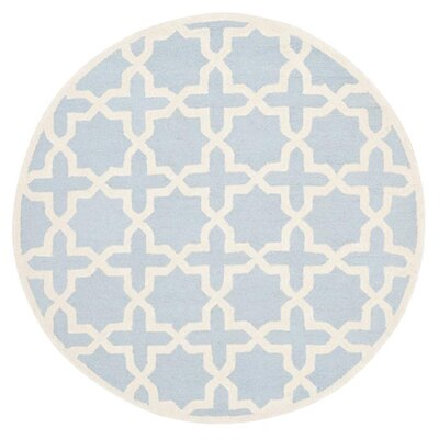 <strong>Safavieh</strong> Cambridge Light Blue / Ivory Rug