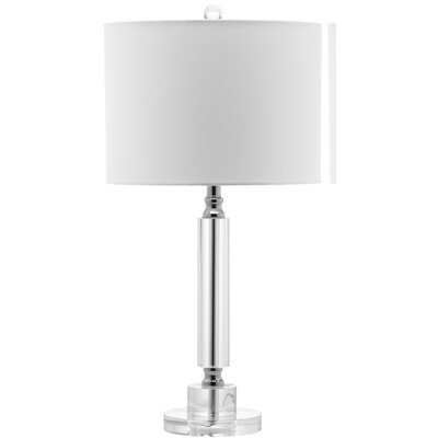 Safavieh Deco Column Crystal Table Lamp