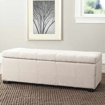Safavieh Park Upholstered Entryway Storage Ottoman
