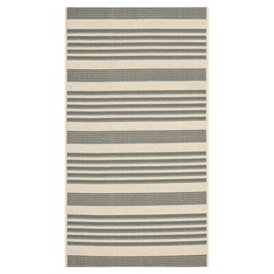 Safavieh Courtyard Grey/Bone Rug