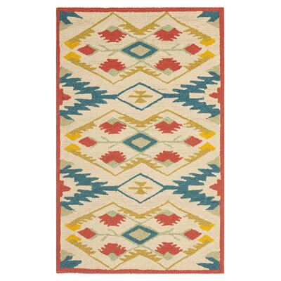 Four Seasons Natural / Blue Rug