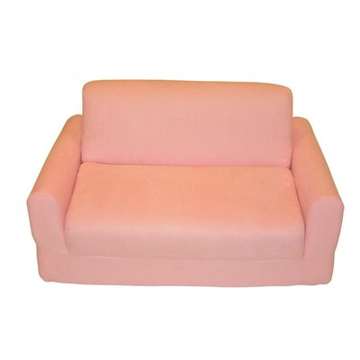 Fun Furnishings Micro Suede Kid's Sofa Sleeper