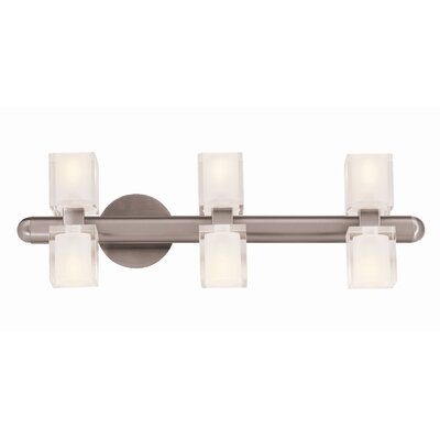 Access Lighting Astor 6 Light Vanity Light
