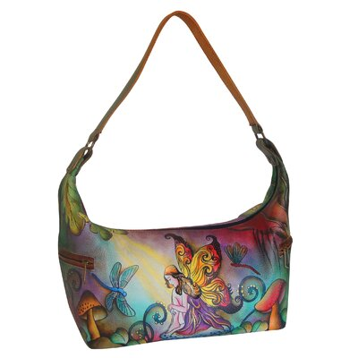 Enchanted Forest Fairy East West Medium Hobo Bag