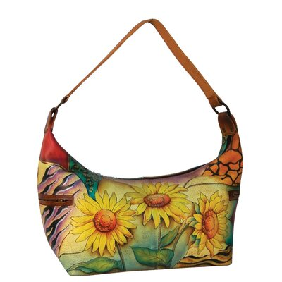 Sunflower Safari East West Medium Hobo Bag