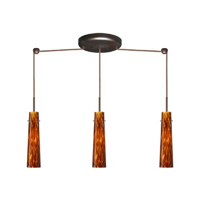 Camino 3 Light Linear Pendant