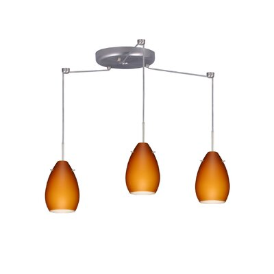 Besa Lighting Pera 3 Light Mini Pendant