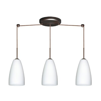 Besa Lighting Riva 3 Light Pendant