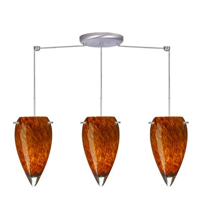 Juli 3 Light Linear Pendant