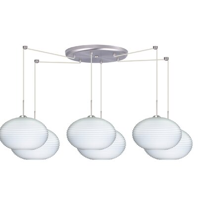 Besa Lighting Pape 6 Light Globe Pendant