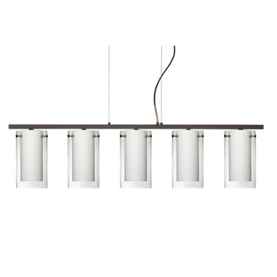 Pahu 5 Light Kitchen Island Pendant