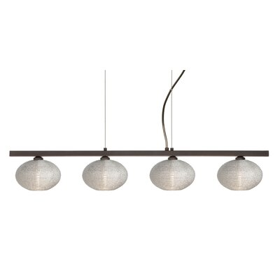 Besa Lighting Lasso 4 Light Kitchen Island Pendant