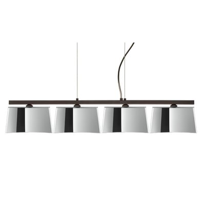 Groove 4 Light Kitchen Island Pendant