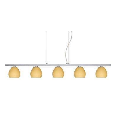 Besa Lighting Tay Tay 5 Light Linear Pendant