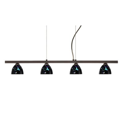 Besa Lighting Divi 4 Light Kitchen Island Pendant
