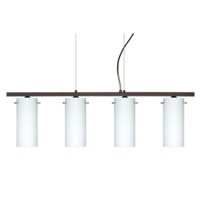 Copa 4 Light Kitchen Island Pendant