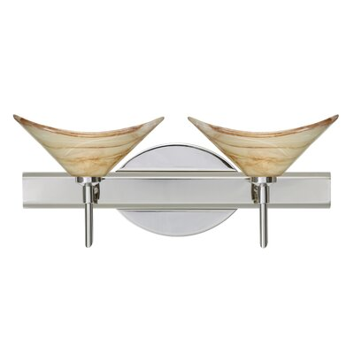Besa Lighting Hoppi 2 Light Bath Vanity Light