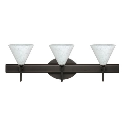 Besa Lighting Kani 3 Light Vanity Light