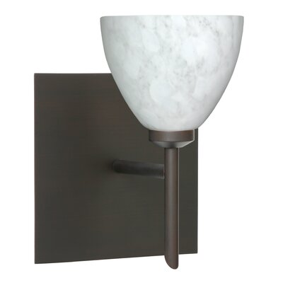 Besa Lighting Divi 1 Light Wall Sconce