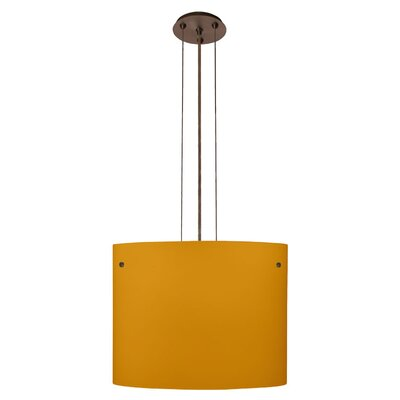 Besa Lighting Tamburo 1 Light Drum Pendant