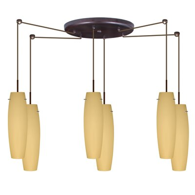Besa Lighting Tutu 6 Light Mini Pendant