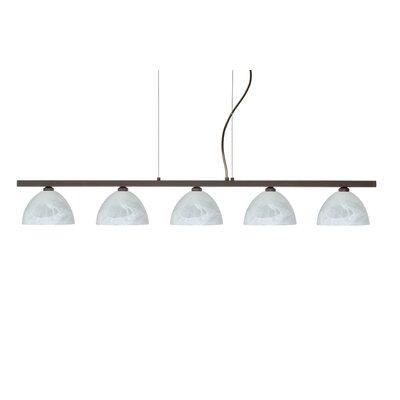 Besa Lighting Brella 5 Light Linear Pendant