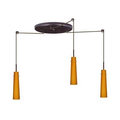 Besa Lighting Camino 3 Light Pendant
