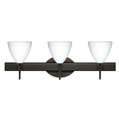 Besa Lighting Mia 3 Light Bath Vanity Light