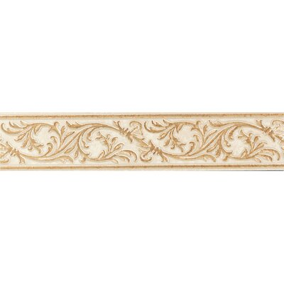 "Mohawk Flooring Bella Rocca 2"" x 9"" Decorative Accent Strip in Etruscan Gold"